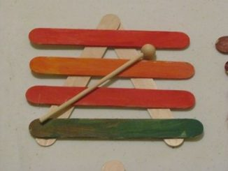 popsicle stick xylophones craft