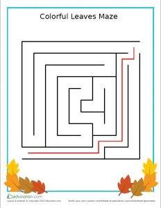 preschool_games_maze_autumn_leaves_answers