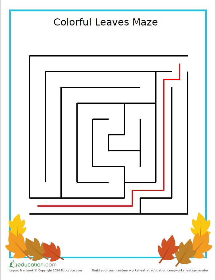 preschool_games_maze_autumn_leaves_answers