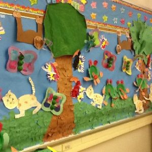 rainforest-bulletin-board-ideas