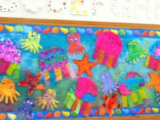 sea animal bulletin board idea