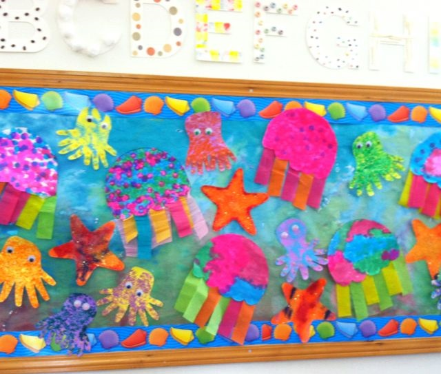 sea animal bulletin board idea