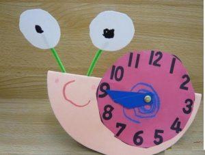 snail-clock-craft-idea
