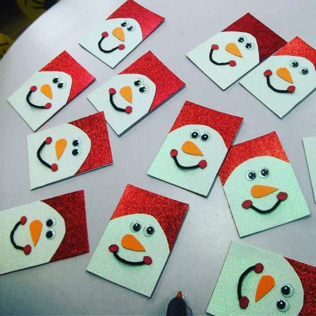 snowman-christmas-card-craft-ideas