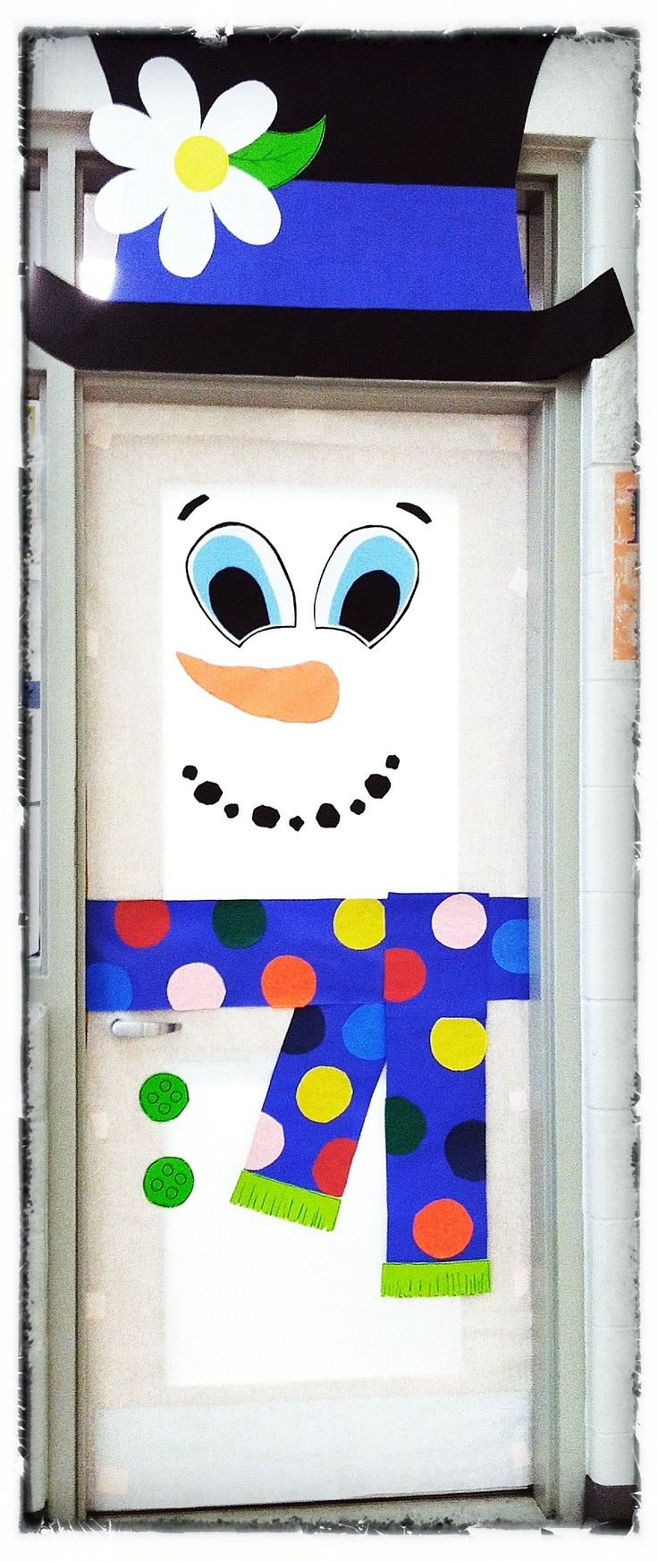 Christmas Decoration For Preschool Classroom ~ Christmas door decoration idea for kindergarten