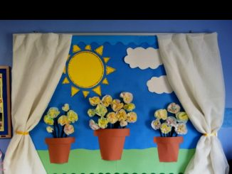 spring-bulletin-board-idea-for-preschoolers