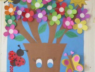 spring tree bulletin board idea (1)