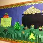st patrick's day bulletin board idea