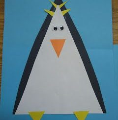 triangle-penguin-craft-idea