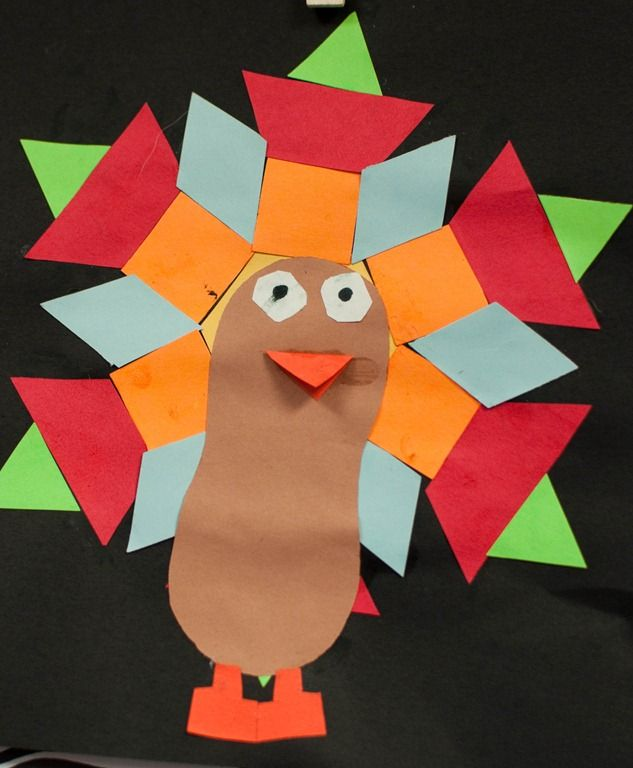 turkey-Feather-Shapes-craft
