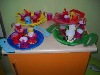 yogurt cup craft