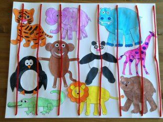 zoo animal craft idea