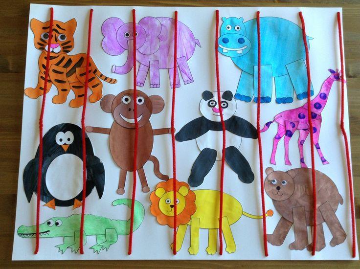Zoo Animal Craft Idea For Kids Preschoolplanet