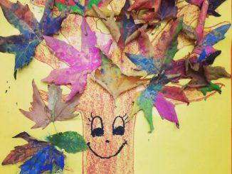 autumn tree craft for preschoolers