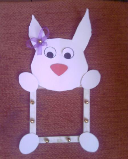 bunny-frame-craft-idea