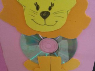 cd-lion-craft-idea