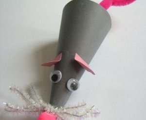 cone-shaped-mouse-craft