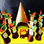 cone shaped native american craft