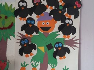 crow-bulletin-board-idea