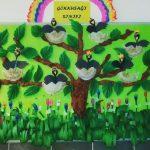 crow bulletin board idea for kids