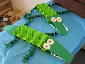 egg-carton-Crocodile-craft-idea