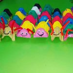egg carton caterpillar crafts