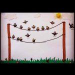 handprint-crow-bulletin-board-idea