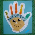 handprint native american craft idea for kids