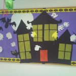 haunted-house-bulletin-board-idea