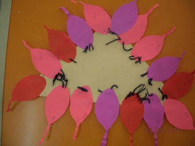 mouse bulletin board idea for kids