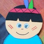 native american craft idea for kids