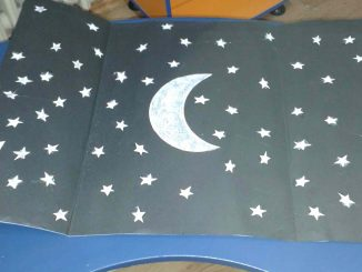 night bulletin board idea