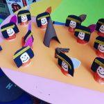 paper cup native american craft idea (1)