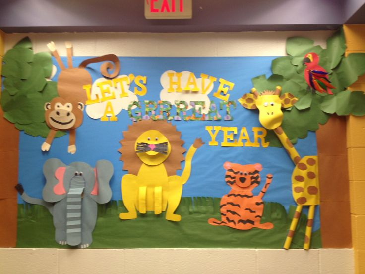 rainforest-bulletin-board-idea-for-toddlers