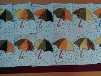 recycled umbrella craft