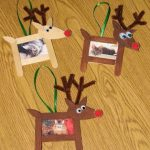 reindeer frame craft idea