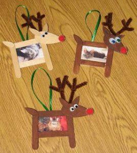 reindeer frame craft idea