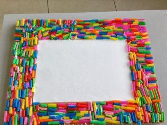 straw-frame-craft-idea
