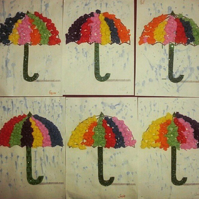 umbrella-craft-idea-for-kindergarten