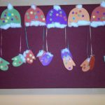 winter clothes craft idea