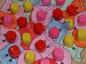 yogurt-cup-pig-craft-idea