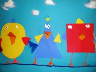 Shape-birds-craft