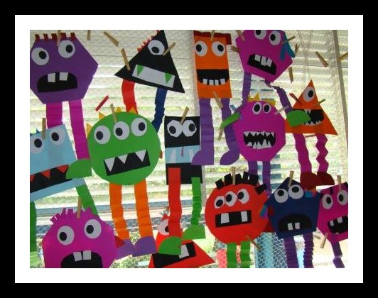 Shape-monsters-craft-idea-for-kids
