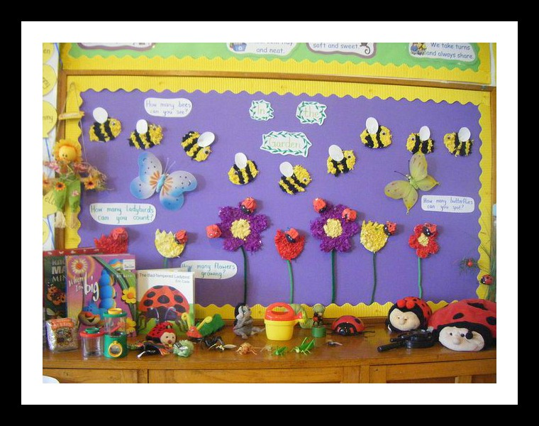 Spring-bulletin-board-idea-for-kindergarten