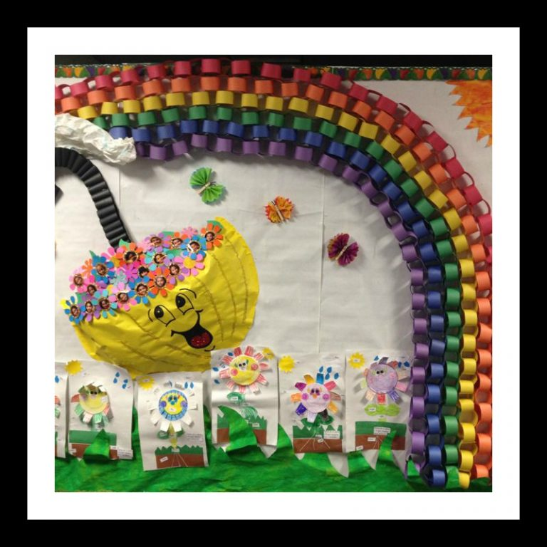 Spring-bulletin-board-idea-for-toddlers