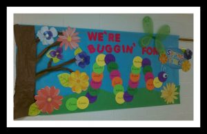 Spring-bulletin-boards-idea