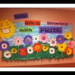 Spring-flower-Bulletin-Board-idea