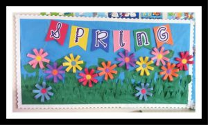 Spring-flower-bulletin-board-ideas