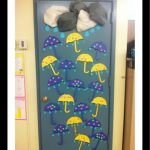 autumn door decoration craft