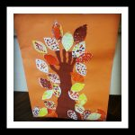 autumn tree craft idea